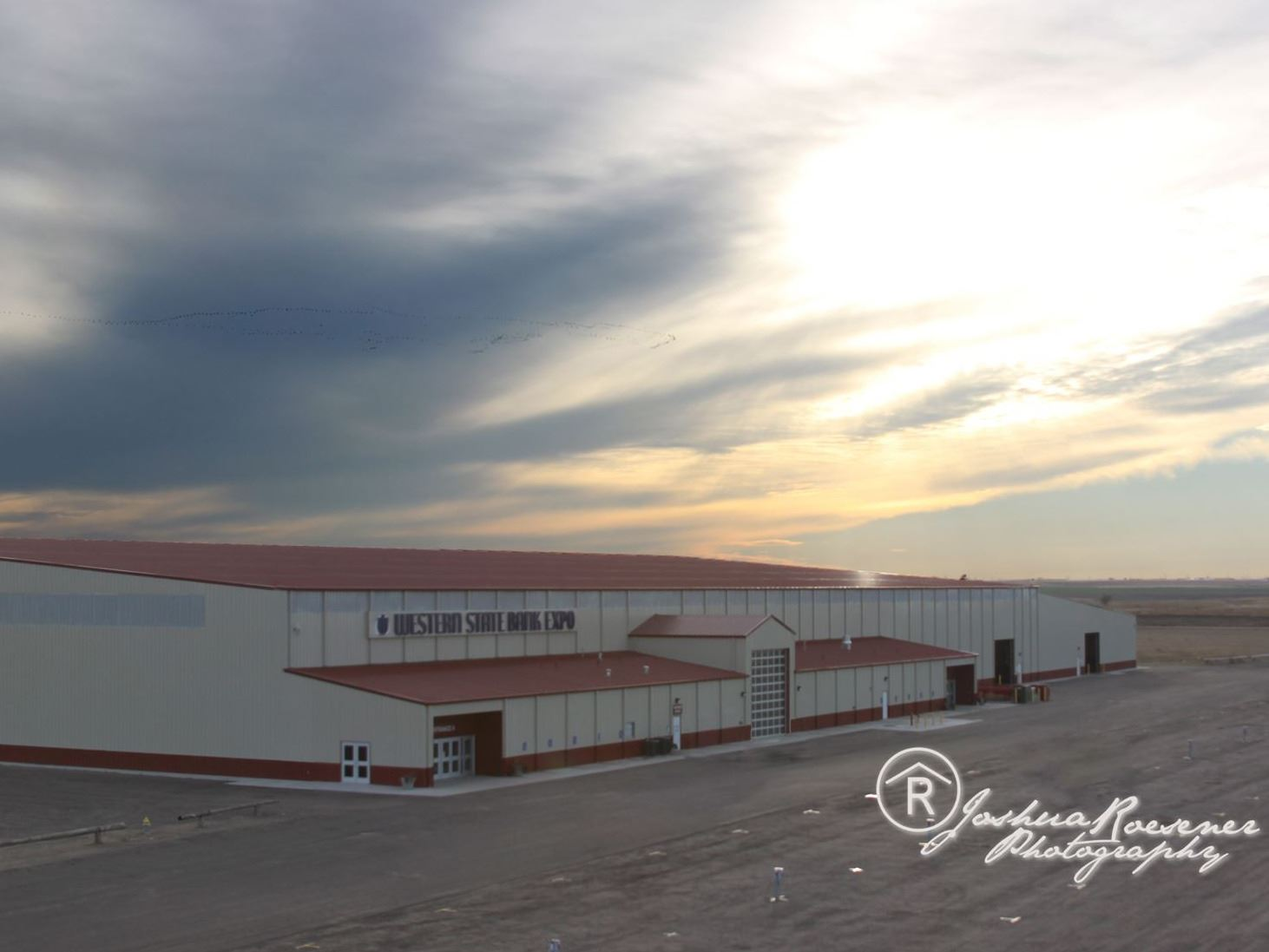 Large Expo Center in Western Kansas
